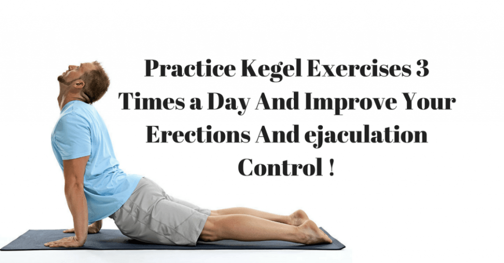 kegel exercises for ED